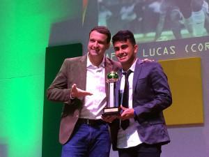 Artilheiro das premiações: Rafhael Lucas entre os melhores do Paranaense